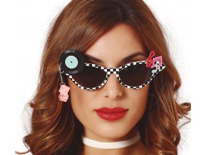 Disco szemüveg 50-es évek