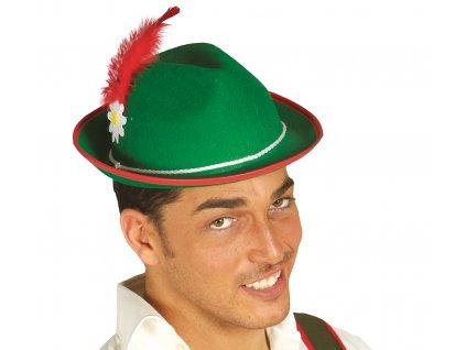 Tiroli férfi kalap