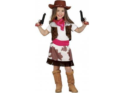 Gyermek jelmez - cowboy lány