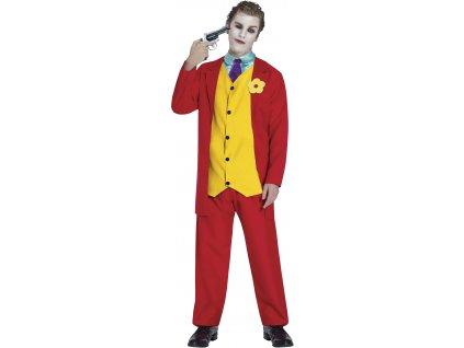 Pánsky kostým - Joker Mr. Smile (Méret - felnőtt M)