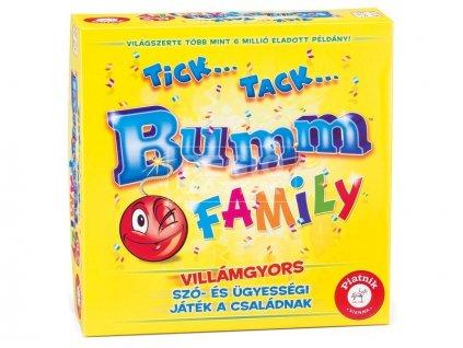 Társasjáték -  Tick Tack Bumm Family