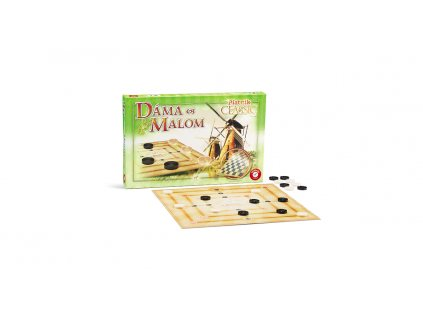 Társasjáték -  Dáma & Malom