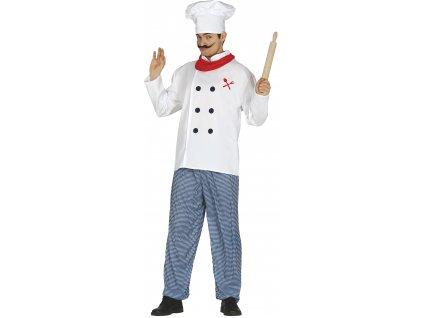 Kostým šéfkuchára (Méret - felnőtt L)