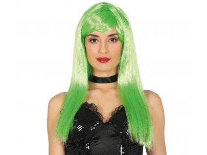 Paróka - Neon zöld