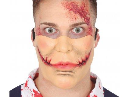 Fél maszk - Vágott száj