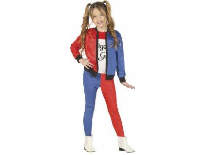 Harley Quinn - detský kostým (Méret - gyermek M)