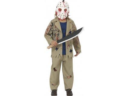 Jason - Detský kostým (Méret - gyermek M)