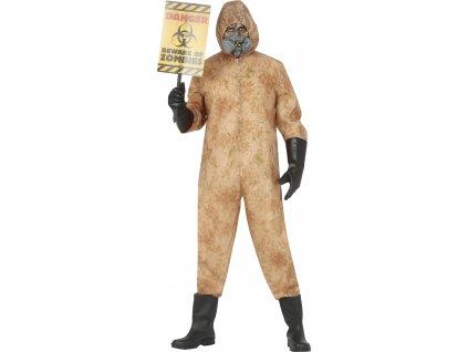 Pánsky kostým - Jadrový oblek Černobyl (Méret - felnőtt M)