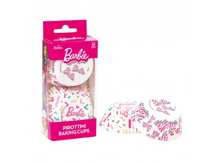 Muffin kosarak - Barbie konfetti 36 db
