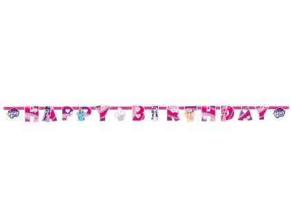 Banner - My Little Pony 200 x 15 cm