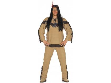 Kostým indiána (Méret - felnőtt L)