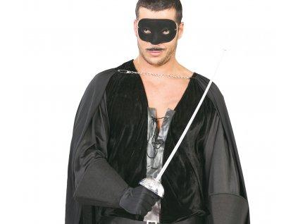 Zorro maszk és kard 63 cm