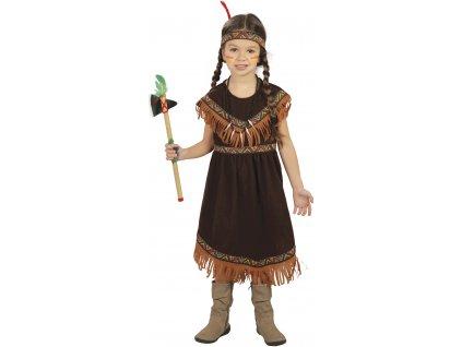 Gyermek jelmez - indiánlány