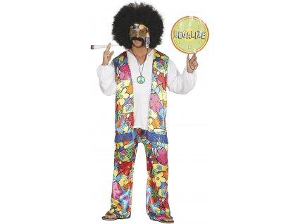 Férfi jelmez - hippi