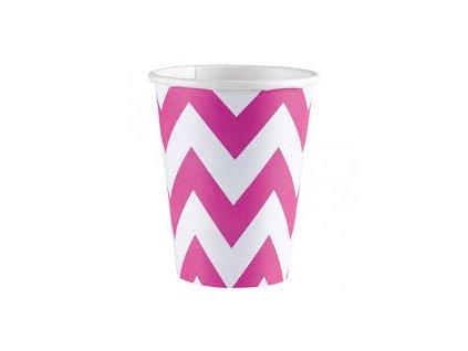 Poharak - rózsaszín 8 db