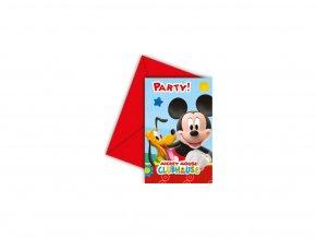 Party pozvanky Mickey