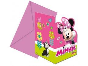 Meghívók - Minnie 6 db