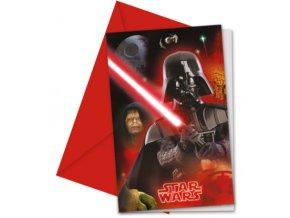 Meghívók - Star Wars 6 db
