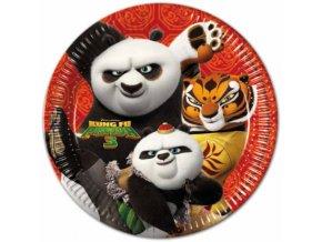 Tányérok - Kung Fu Panda 8 db