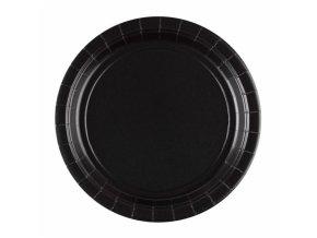 Tányérok - fekete 8 db