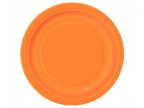 Tányérok - narancssárga 8 db