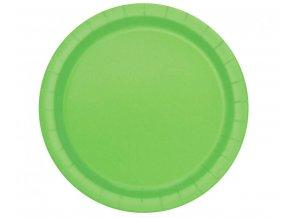 Tányérok - zöld 8 db