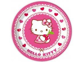 Tányérok - Hello Kitty party 8 db