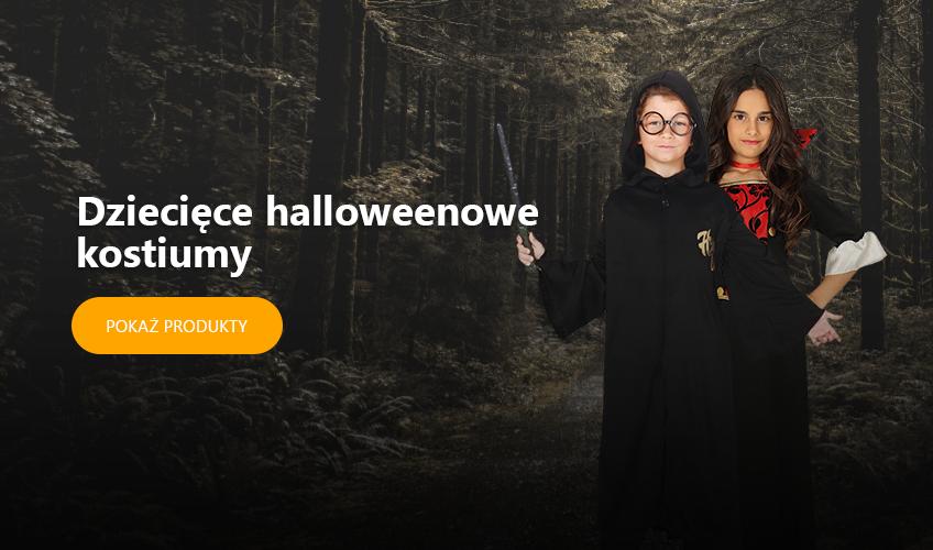 Dziecięce halloweenowe kostiumy