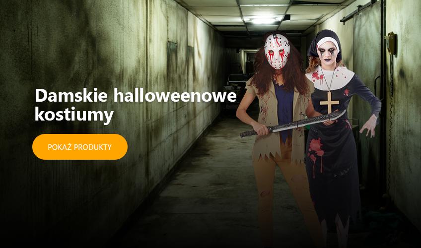 Damskie halloweenowe kostiumy