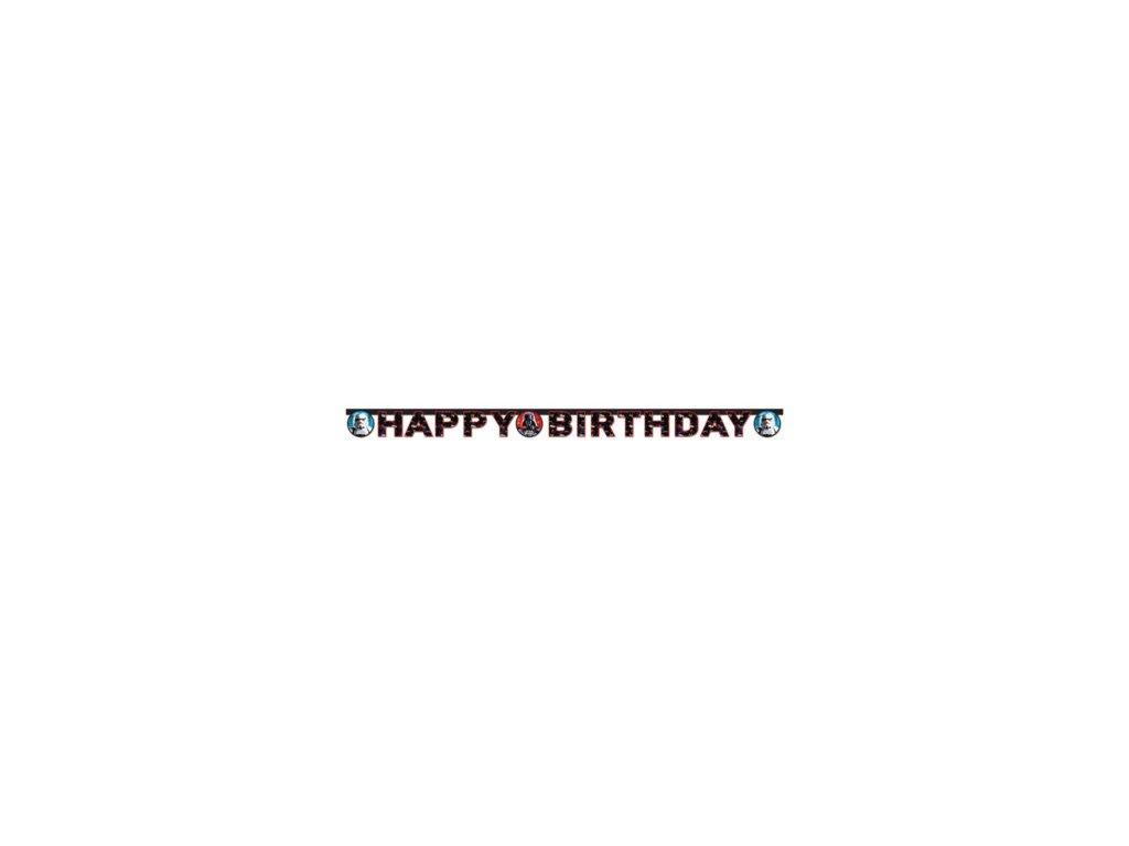 Banner Happy Birthday Star wars
