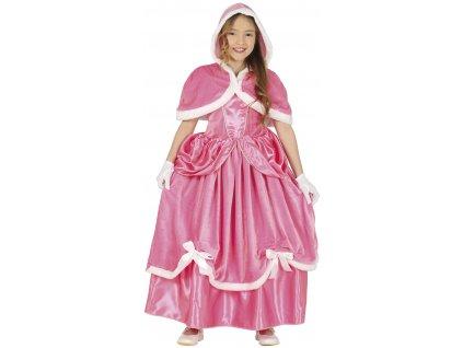 Detský kostým - Ľadová princezná (Rozmiar - dzieci S)