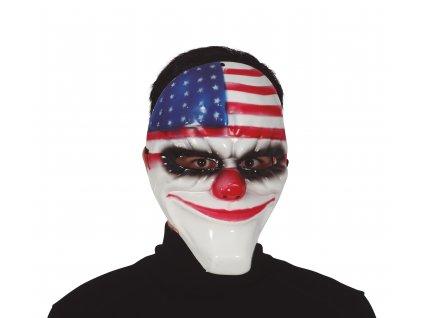 46520 americka maska klauna