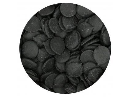 čierna čokoládová poleva