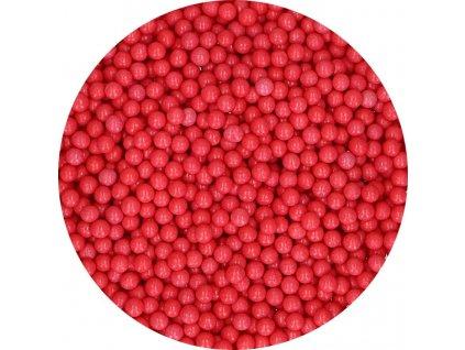 červené jedlé perličky