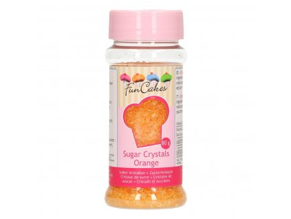 oranžový cukor