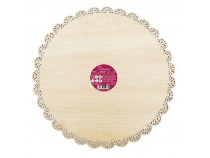 drevená tortová podložka