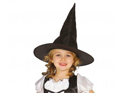 59850 carodejnicky klobuk detsky cierny