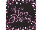 Petrecere de aniversare în stil roz strălucitor - Decorațiune party