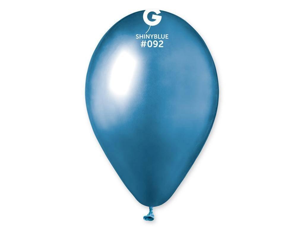 Balon cromat albastru