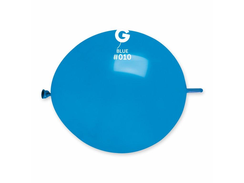 Balon de legătură albastru