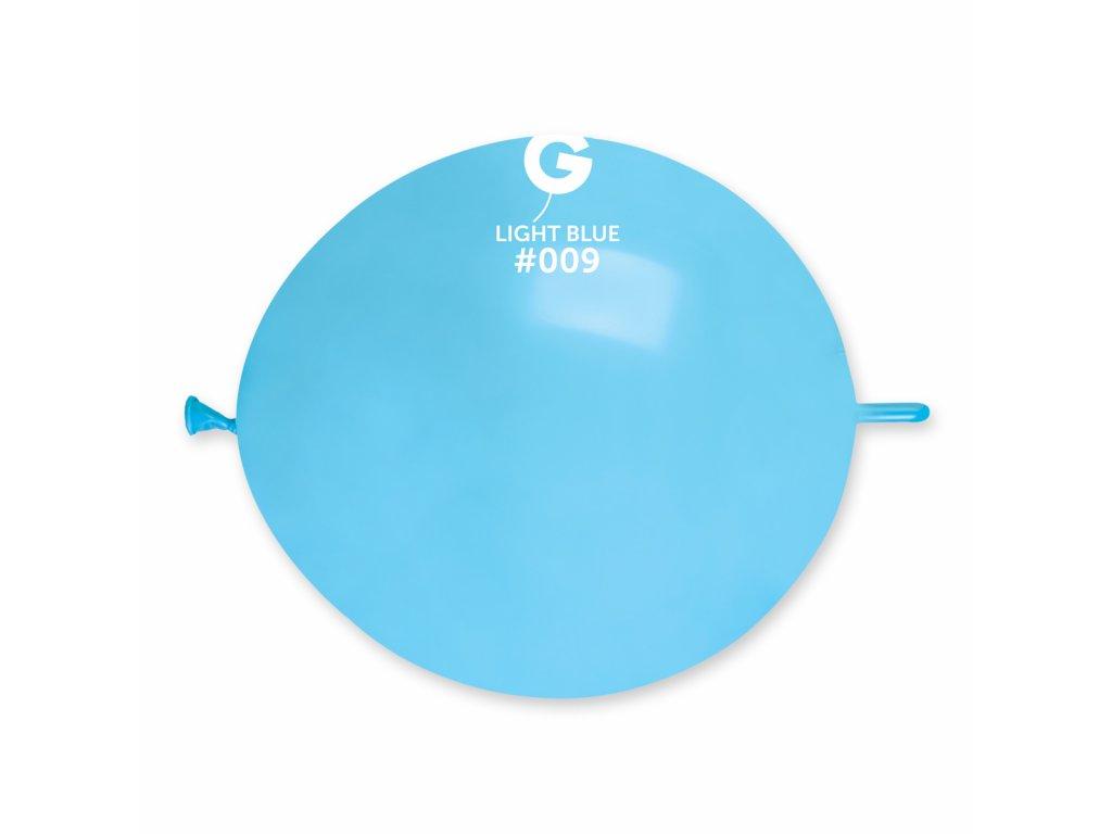 Balon de legătură albastru deschis
