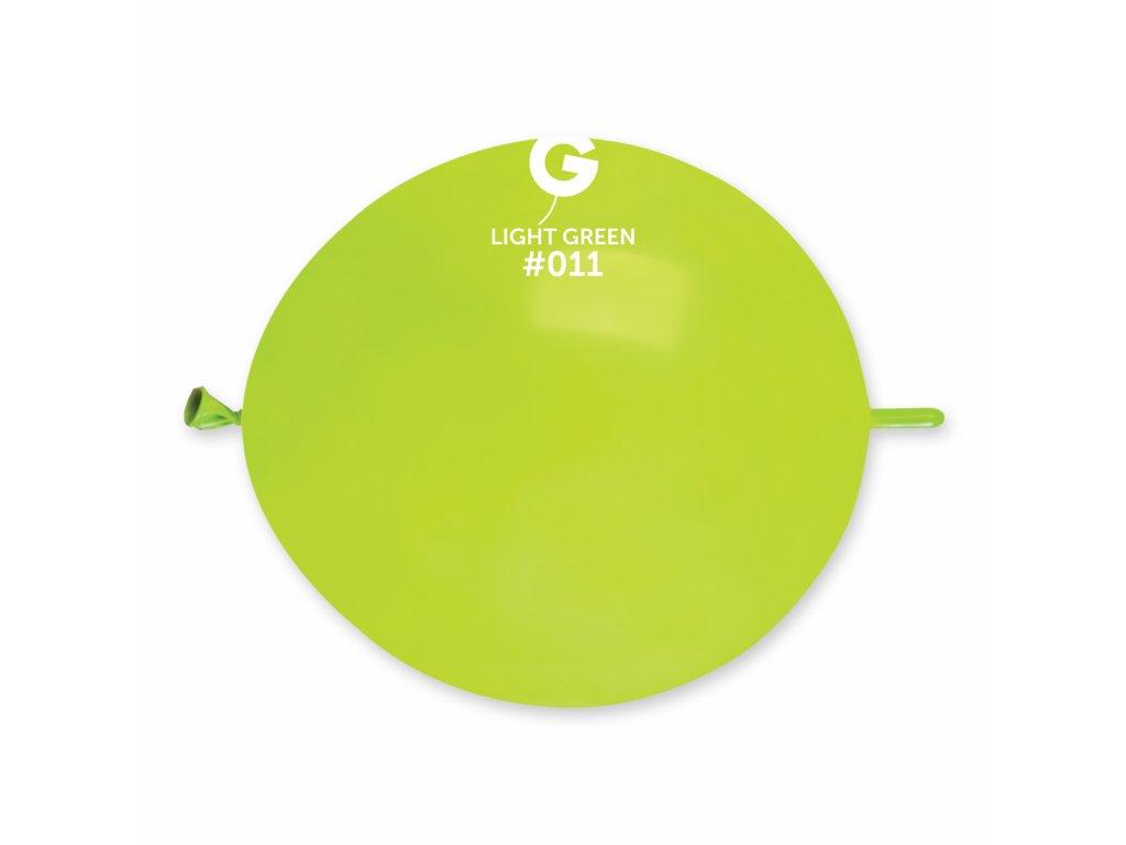 Balon de legătură verde deschis