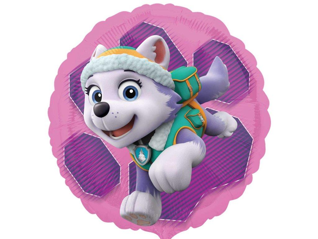 39059 foliovy balon paw patrol skye everest 43cm