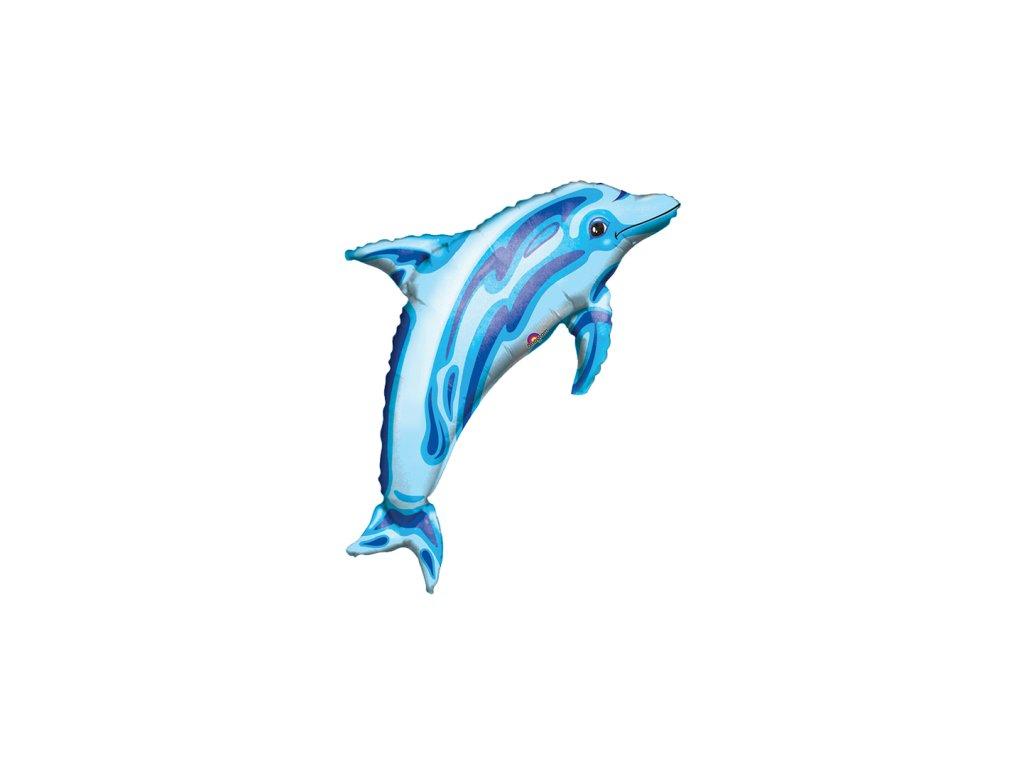 Balon din folie Delfin