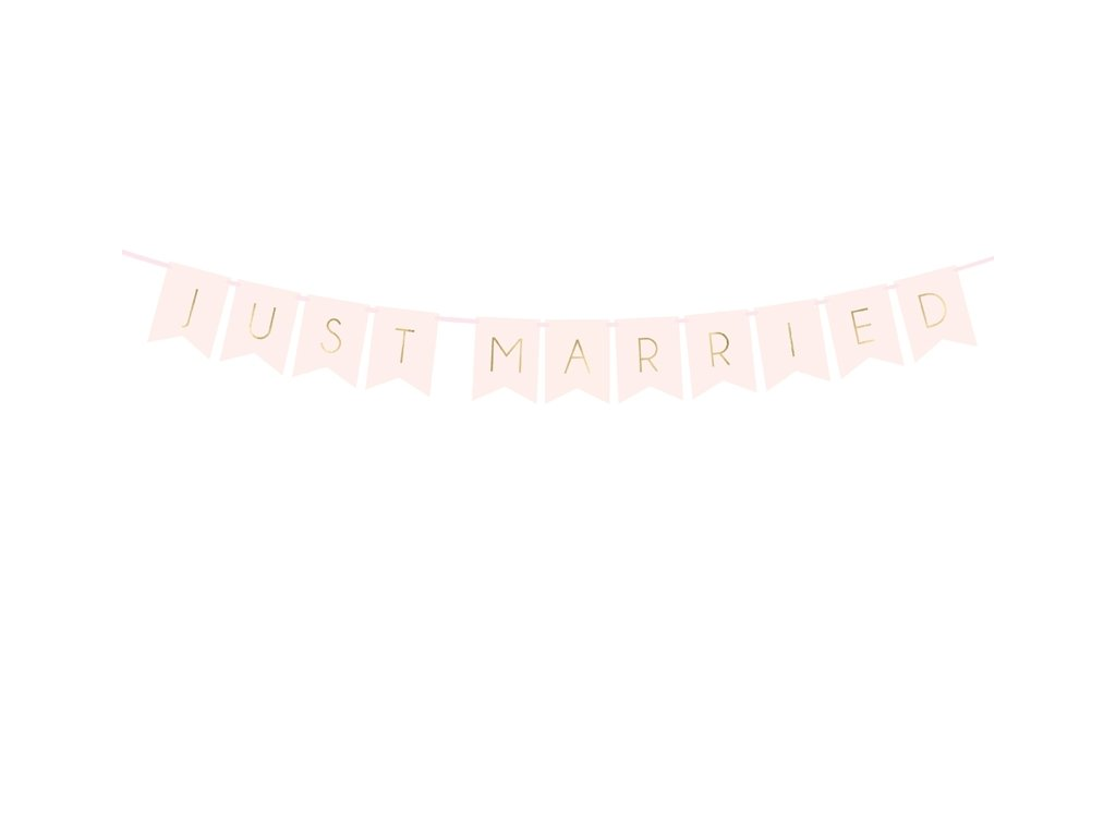 Banner Just Married 1,55 m