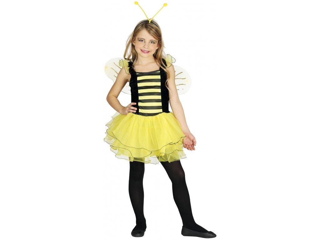Kostým Včielky (Veľkosti 10-12 rokov (výška 142-148cm))