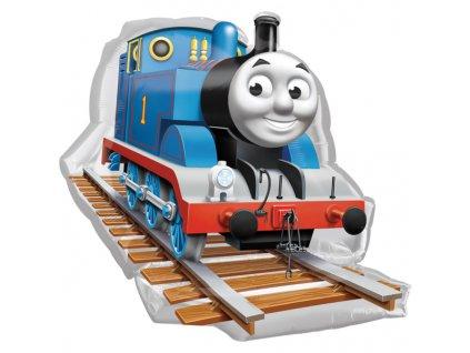 Balon din folie Trenuleţul Toma