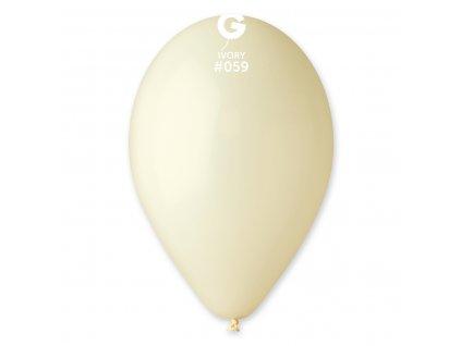 Balon pastelat crem