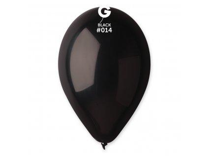 Balon pastelat negru