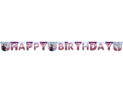 Banner - Happy Birthday (Frozen 2)